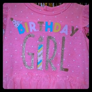 Infant girls birthday outfit Size 9 months